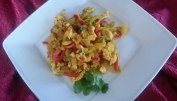 Potrawka tajska z kurczakiem
