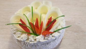 Tort makowy z masą mascarpone