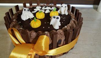 Tort urodzinowy na 31 października - halloween