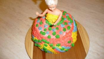 "Tort \""lalka barbie\"""