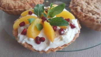 Tarta cytrynowa z owocami
