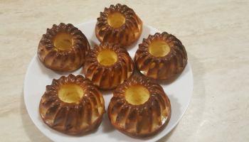 Mini babeczki sernikowe