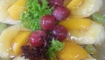 Indyk w maladze z owocami